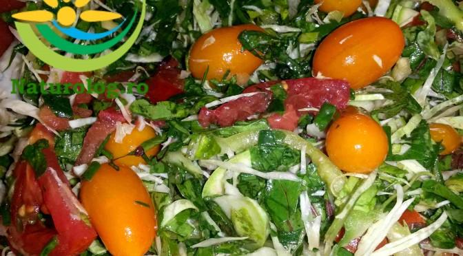 În Doar 17 minute O Salată De Crudități Direct Din Natură Pe Masa Ta