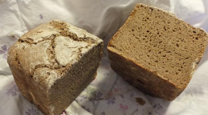 Rețetă Pâine Integrală De Secară  100% Cu Maia, Pentru Mașina de Pâine Sau Cuptor!
