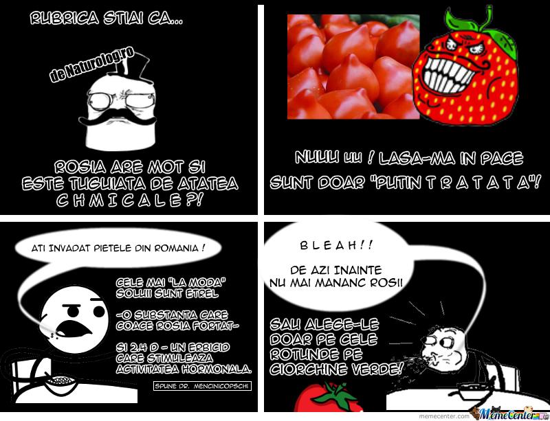 Rosiile Tuguiate Comic Naturolog.ro