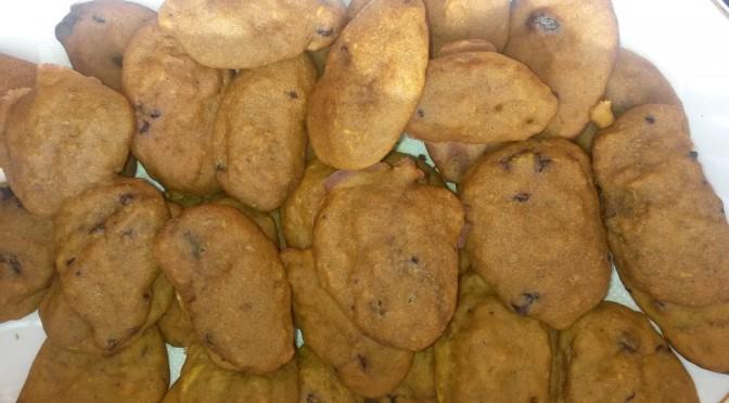 Desert în 15 minute: Biscuiți de dovleac cu bucățele de ciocolată