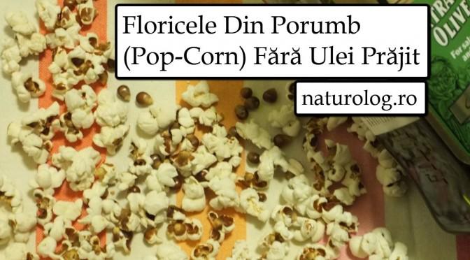 Floricele Din Porumb  (Pop-Corn) Fără Ulei Prăjit