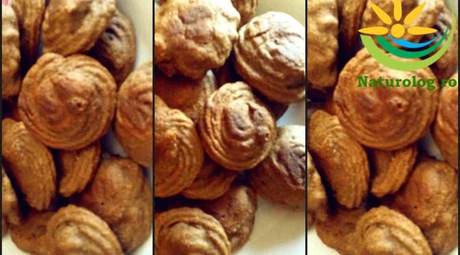 Biscuiți Fără Zahăr Cu Făină de Ovăz și Banană