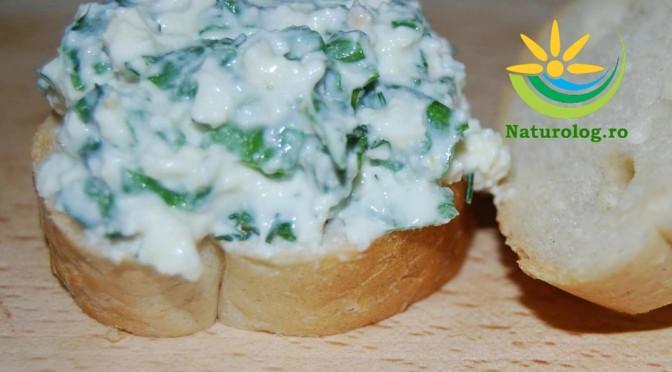 Mic Dejun Rapid: Cremă De Brânză Cu Ceapă Verde Și Mărar