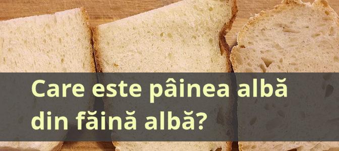 Comparație Între Pâini Albe
